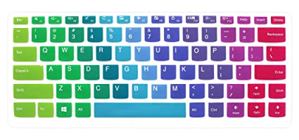 official photos 58af4 7f076 Silicone Keyboard Cover Skin for Lenovo Yoga 710 14