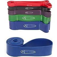 Active Forever Weerstandsband, fitnesselastiek, fitnessband, geschikt voor krachttraining, fitness, pilates, yoga
