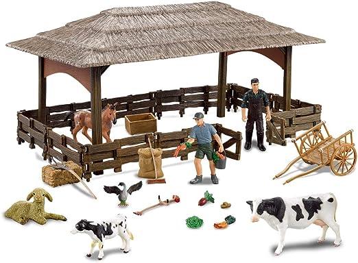 Farmee Animal Farm Set de Juguete | Figuras pintadas a Mano ...