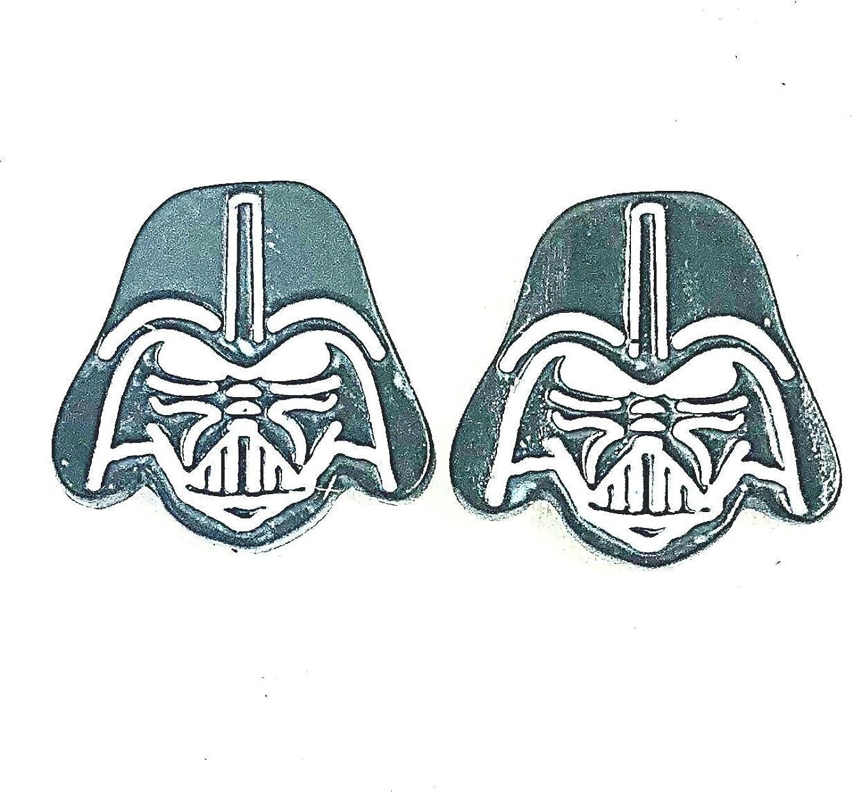 GranTodo Star Wars Steel Death Trooper Glow-in-The-Dark Stud Earrings