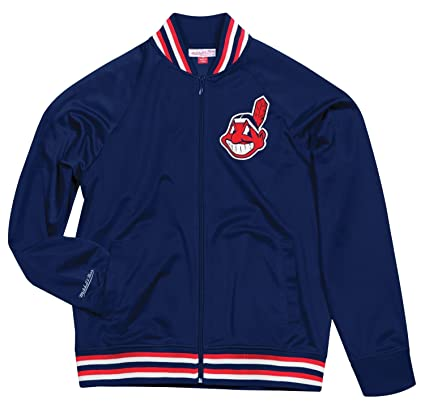 25dc6e1e5 Image Unavailable. Image not available for. Color  Cleveland Indians  Mitchell   Ness MLB Men s ...