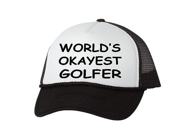 Rogue River Tactical Funny Golf Hat Okayest Golfer Trucker Baseball Cap  Retro Vintage Golfers Gift ( a328d9b2351