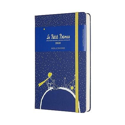 Moleskine - Agenda de 12 Meses para 2020 Edición Especial Planeta El Principito con Tapa Dura y Cierre Elástico, Tamaño Grande 13 x 21 cm, 400 Páginas