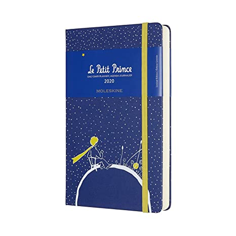 Moleskine Limited Edition Petit Prince 12 Month 2020 Daily Planner, Hard Cover, Large (5