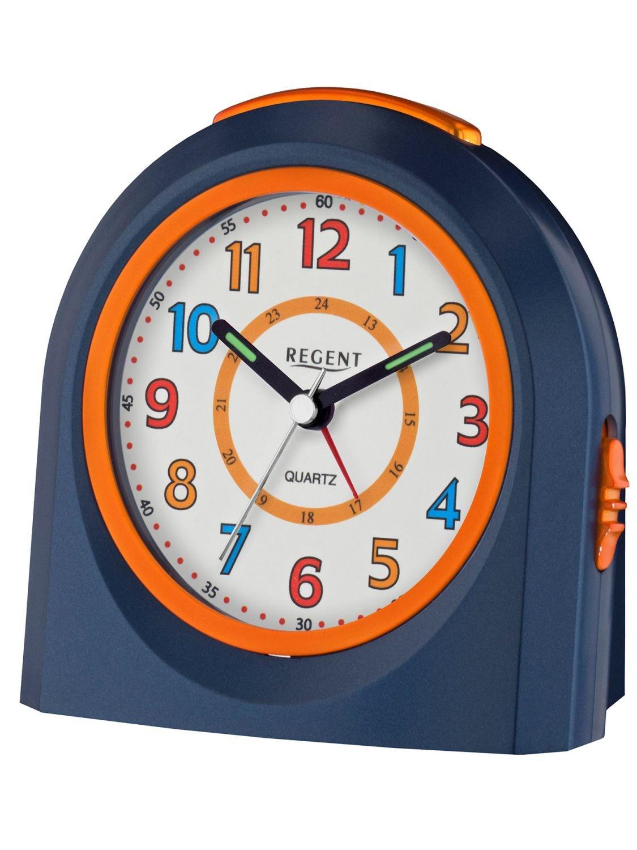 Wecker ohne zeiger  Amazon.de: Regent 40-921-5 Wecker Kunststoff Analog Licht Alarm ...