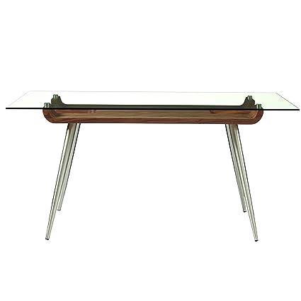 Stainless steel office desk Chrome Office Amazoncom 63 Rhinoplasty Amazoncom 63