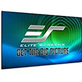 Elite Screens Aeon CLR Series, 120-inch 16:9, Edge Free Ambient Light Rejecting Fixed Frame Projector Screen, Ceiling…