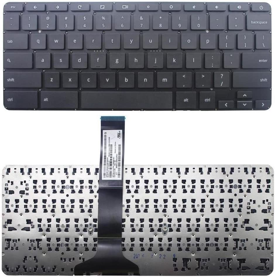 US Layout Black Color Replacement Keyboard Without Frame For HP Chromebook 11 G4 Chromebook 11 G4 EE P//N:788699-001 788639-001 NSK-CU2SQ