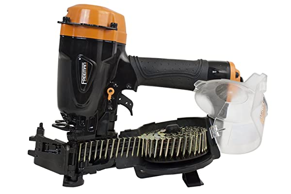 Better yet, this air nailer has a magnetic brad nail holder that helps to align the all the nails while loading.