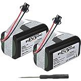 REYTRIC - Batería de repuesto compatible con Deebot N79S, N79, Deebot DN622, RoboVac 11, RoboVac 11S, RoboVac 30, RoboVac 15C