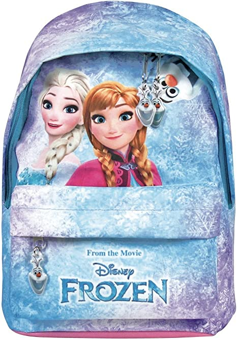 NEW Frozen Elsa Anna Kids Girls Day Care School Bag Backpack