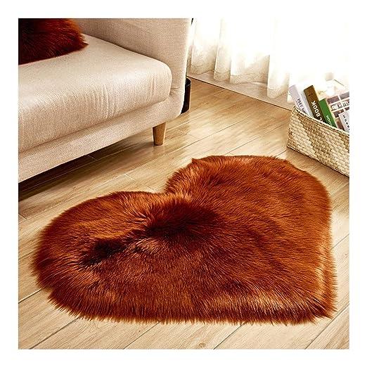 La alfombra Piso de Pelo Largo Cojín de Felpa en Forma de ...