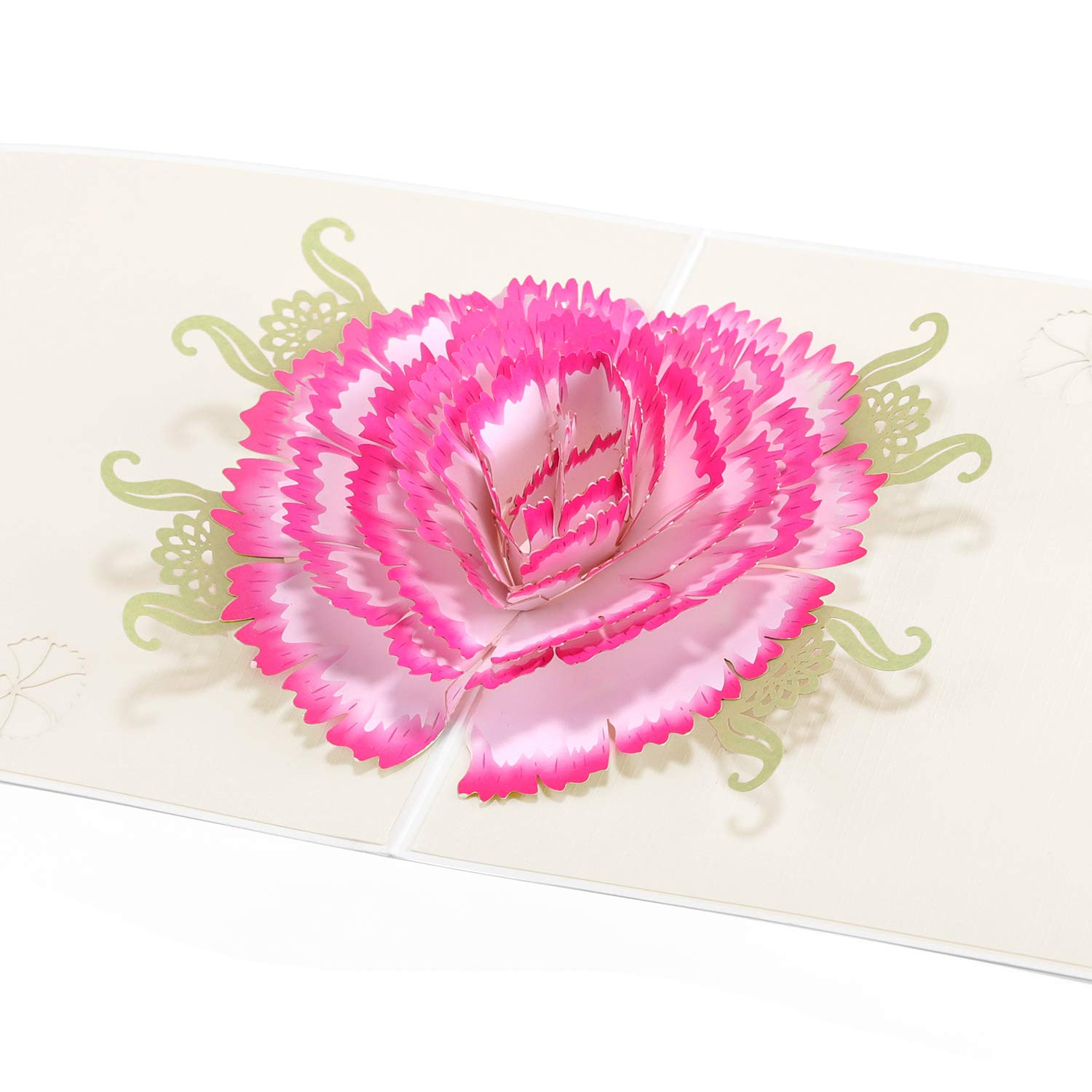 Paper Spiritz Carnations Pop Up Birthday Cards For Mother Mom Her