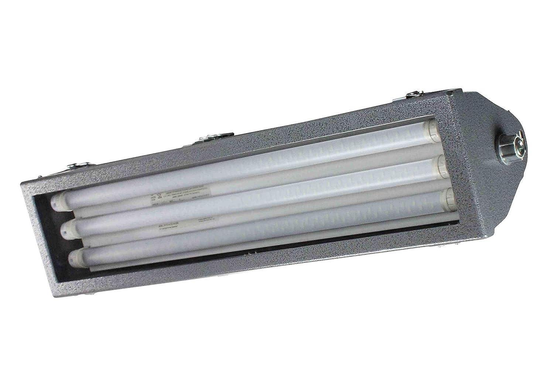 Class 1 div 2 led pivoting light 2 foot 3 lamp offshore led rig light fixture amazon com