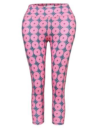 2fde25ee82b3a5 Amazon.com: TAM WARE Women's Activewear Printed Yoga Capri Leggings ...