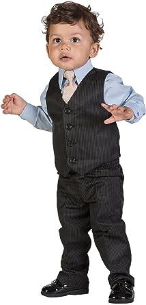 Brillante Centavo, Niño Negro y azul traje de rayas, página chico trajes, 3 Meses – 6 años