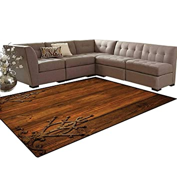 Incredible Amazon Com Rustic Floor Mat Antique Backdrop With Carved Download Free Architecture Designs Xerocsunscenecom
