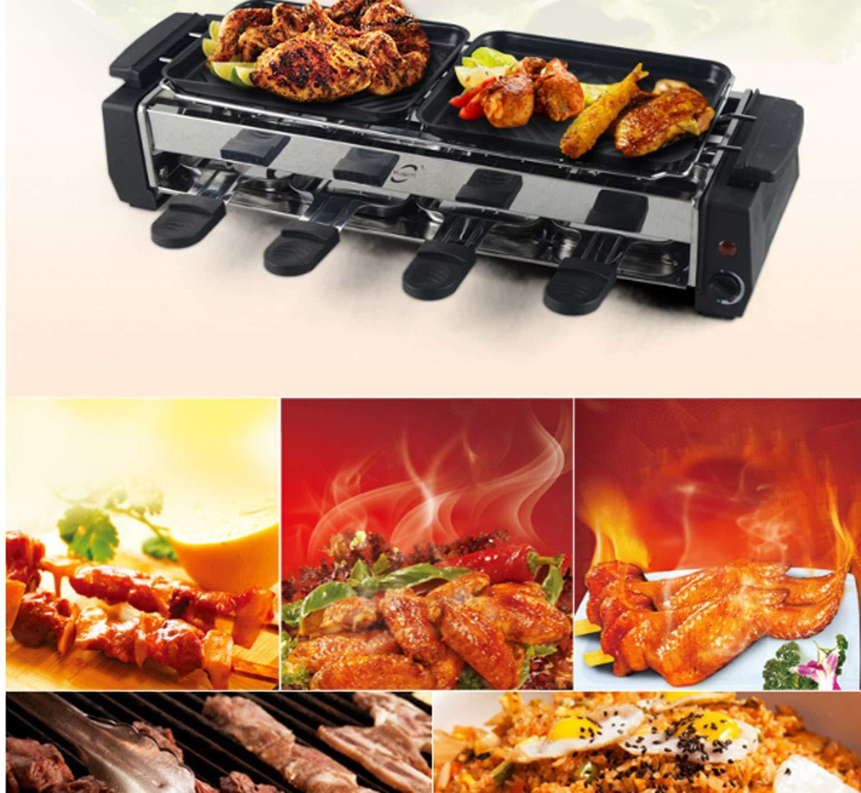 NANXCYR Sartén Estilo Coreano BBQ Sin Humo Antiadherente ...