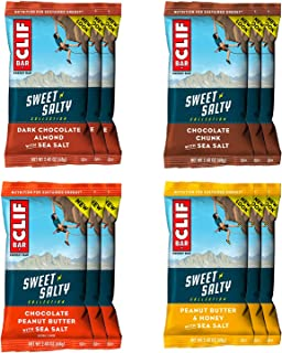 product image for CLIF Bar - Sea Salt Energy Bar Variety Pack, 4 Great Flavors | 12-Pack