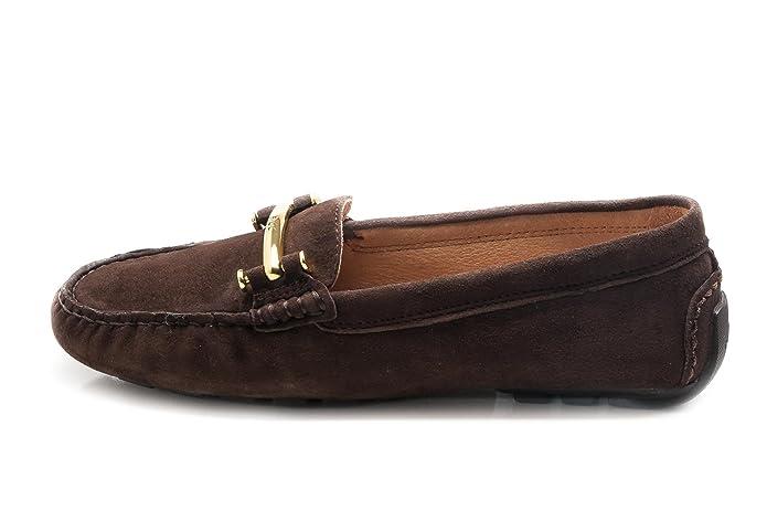 Ralph Lauren Mocasines Para Mujer Marrón Dark Brown 36: Amazon.es: Zapatos y complementos