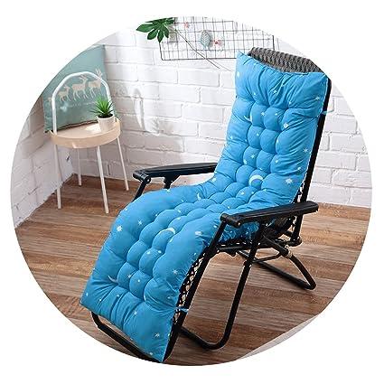 Cojín reclinable para tumbona de jardín, suave, grueso ...