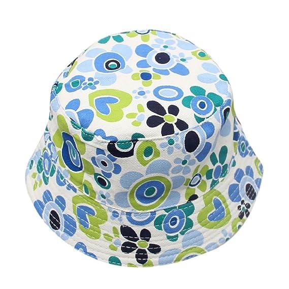 QUICKLYLY Sombrero Pescador con Algodón de Protectora del Sol Sombrero de  Vaquero Primavera Venaro para Bebés 30e43aba178e