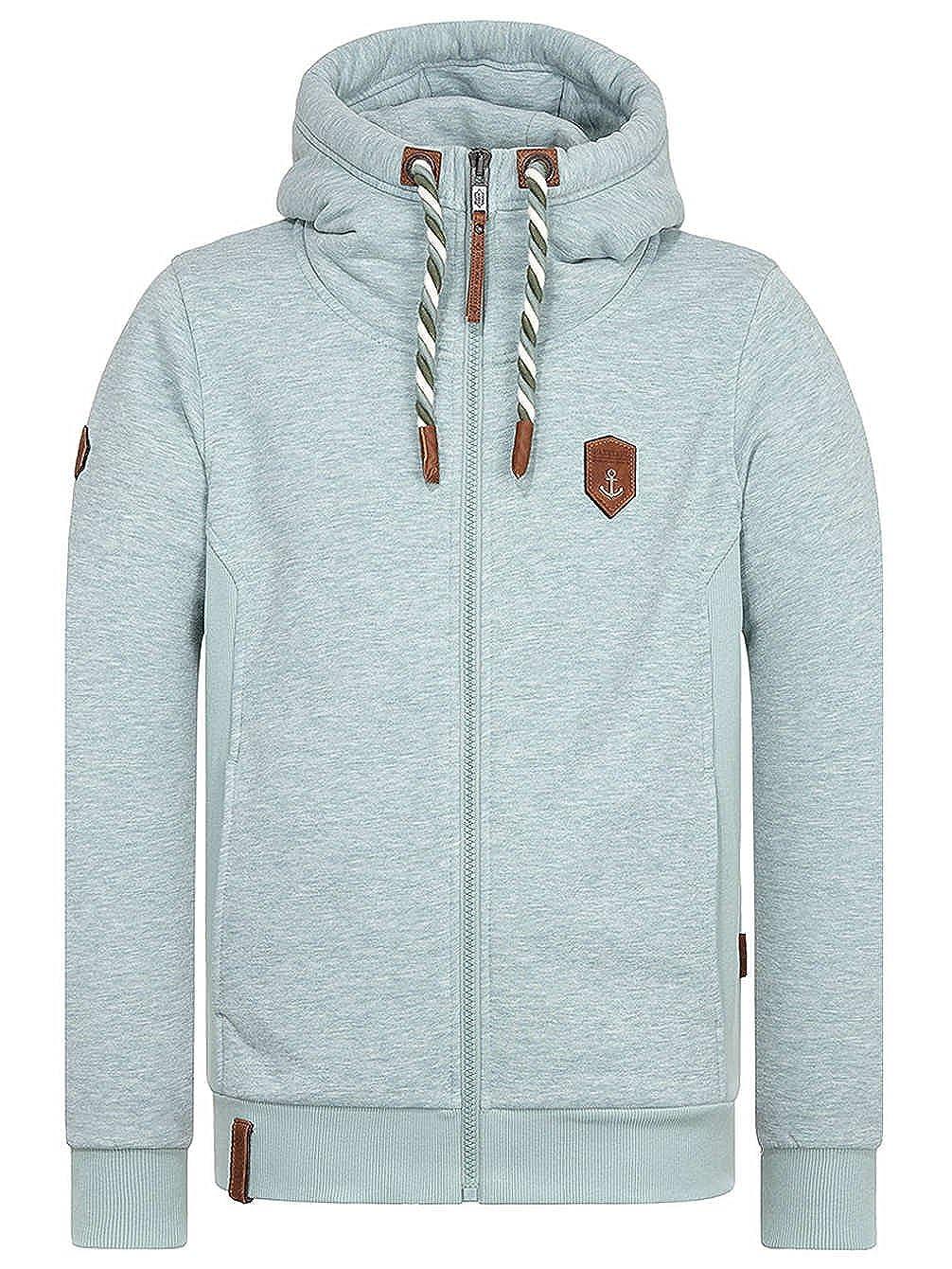 Sweater Hooded Zip Men Naketano Schwarzkopf Zip Hoodie