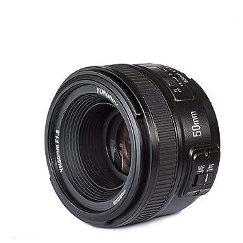 Ohpa YN 50 mm F1.8/1: 1.8 estándar, Objetivo Principal, Enfoque ...