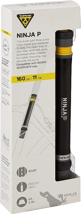 Topeak Ninja P - Bomba de Bicicleta Unisex para Adultos (tamaño ...