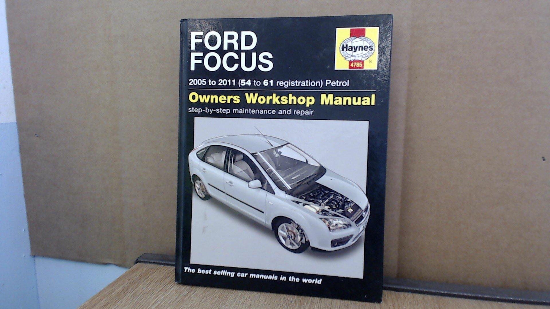 Haynes Ford Focus Petrol 2005-2011 Manual NEW 4785