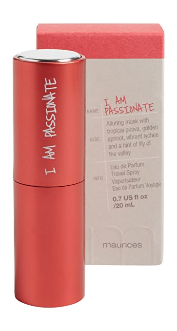 5a7dac2d56d3 Amazon.com : Maurices Women's I Am Passionate Travel Spray Misc ...