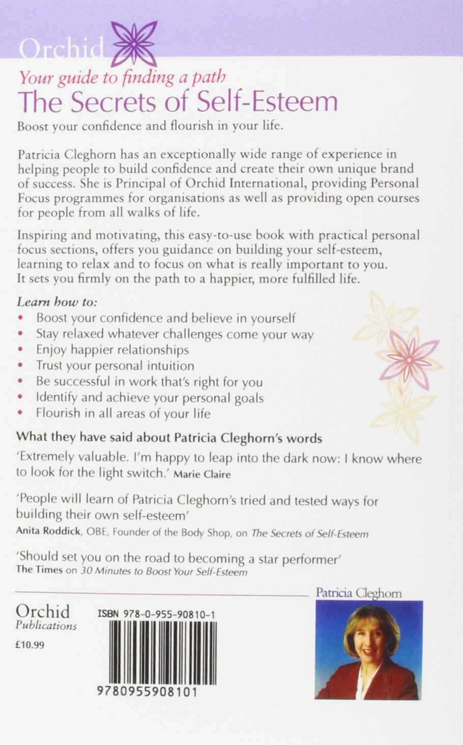 The Secrets of Self-Esteem: Amazon.co.uk: Patricia Cleghorn ...