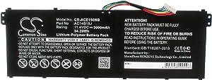 3000mAh Replacement for Acer Aspire ES1-520-507Z, Aspire ES1-520-513R, Aspire ES1-520-51MU, Aspire ES1-520-52N2, Aspire ES1-520-54E9 Battery, P/N AC14B13J, AC14B18J, AC14B18J(3ICP5/57/80)