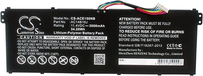 Replacement Battery for ACER Aspire Aspire ES1-111-C5M1, Aspire E11
