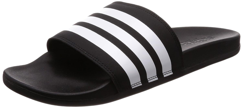 adidas Boys' Adilette Comfort Beach and Pool Shoes Black (Negbás/Ftwbla 000) 5 UK AP9971