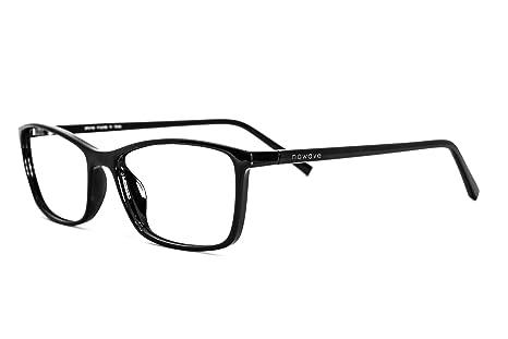 NOWAVE Gafas Neutras para PC, Smartphone, TV y Gaming | Eliminan la fatiga y la irritación visual | Gafas ANTI LUZ AZUL ...