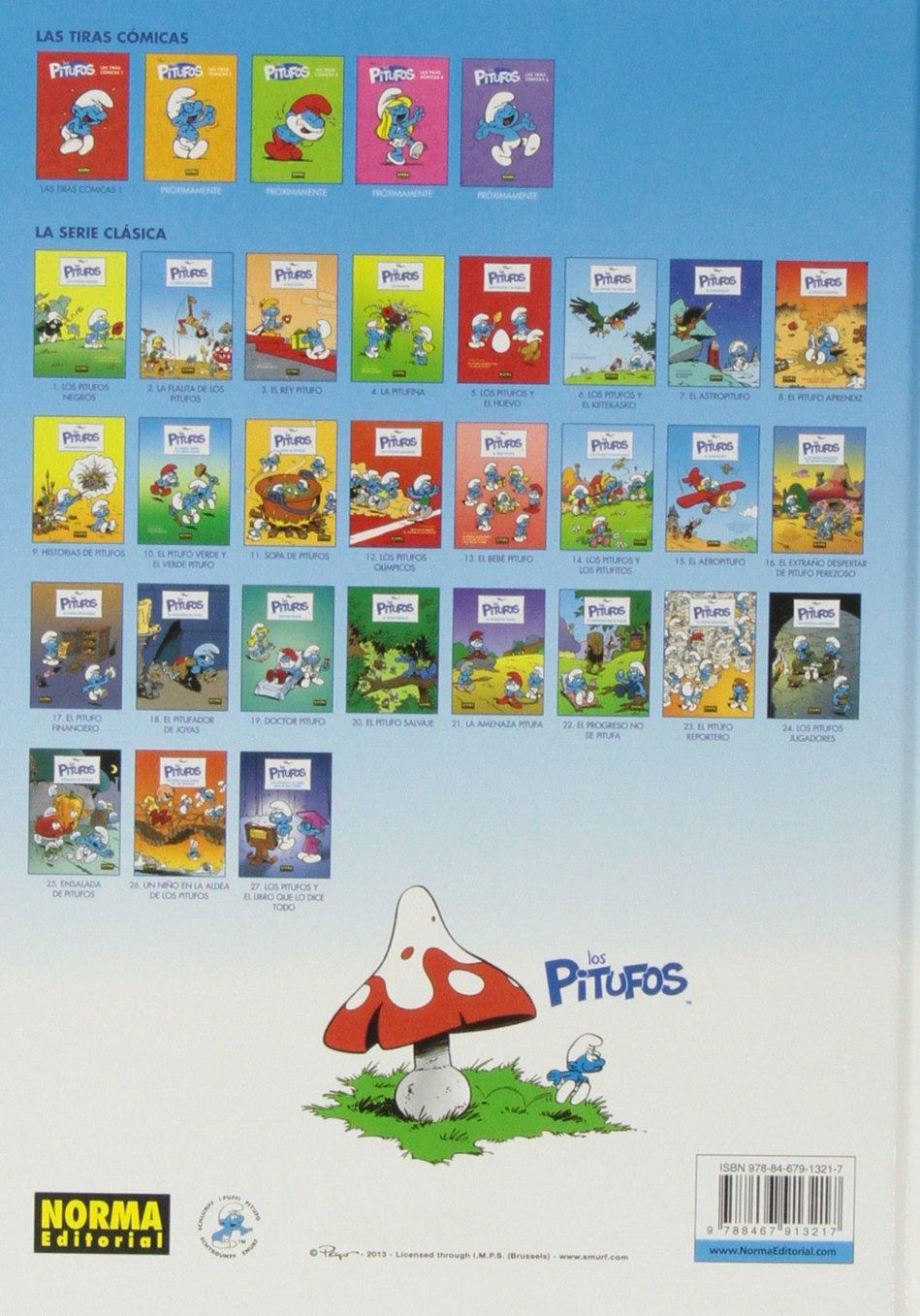 Los pitufos 9. Historias de Pitufos INFANTIL Y JUVENIL - 9788467913217: Amazon.es: Peyo e Y. Delporte: Libros