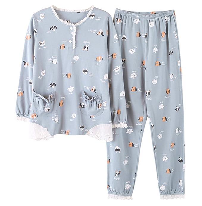 COCO Clothing - Pijama - para mujer gris XXL