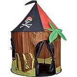 Kids Kingdom Pop-up Pirate Cabin Play Tent