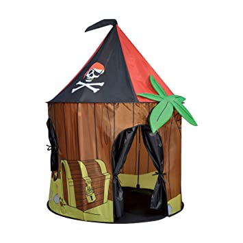 Spirit of Air Kids Kingdom Pop-up Pirate Cabin Play Tent  sc 1 st  Amazon.com & Amazon.com: Spirit of Air Kids Kingdom Pop-up Pirate Cabin Play ...