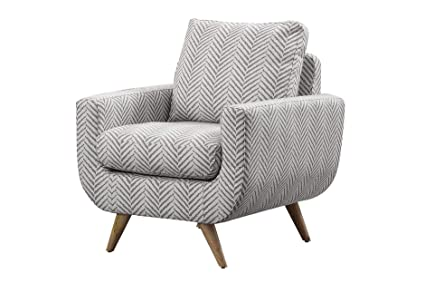 Amazon.com: Benzara BM180088 Herringbone Pattern Upholstered ...