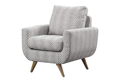 Amazon.com: Benzara BM180088 Herringbone Pattern Upholstered ...