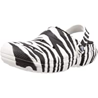 Crocs Unisex-Adult Classic Lined Animal Print Clog | Fuzzy Slippers