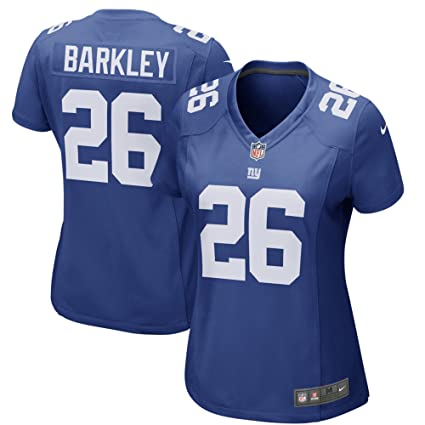 cheap for discount 6c124 29ab6 Amazon.com : Nike Women's Large Saquon Barkley New York ...