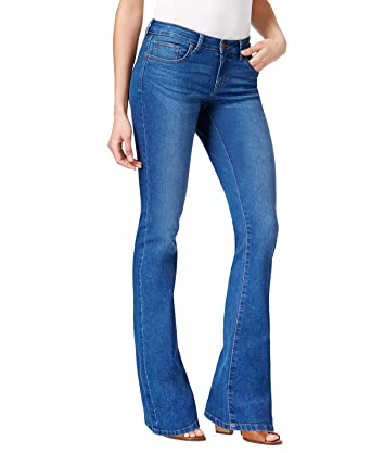 761c9c19 Style & Co. Curvy-Fit Bootcut Jeans (4, Capside) at Amazon Women's ...