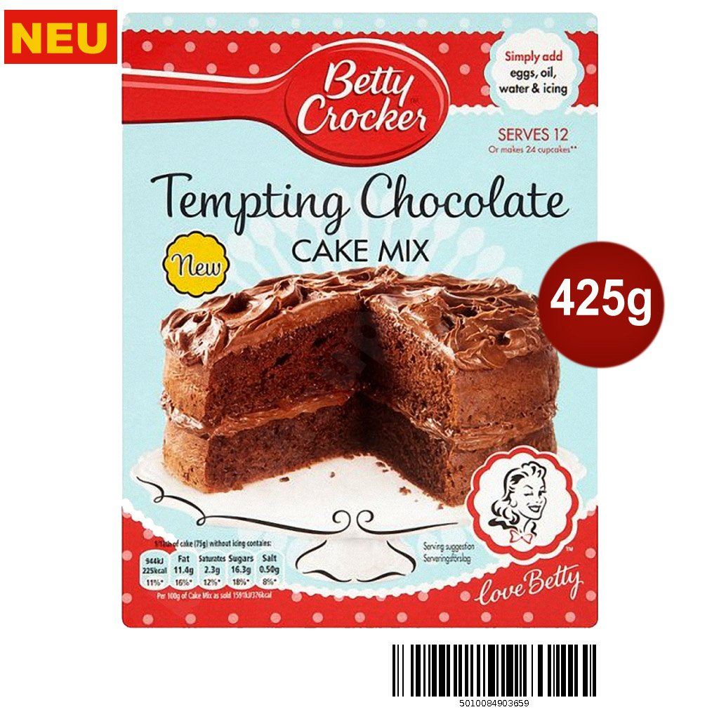 Betty Crocker, Bizcocho - 6 de 425 gr. (Total 2550 gr.): Amazon.es: Alimentación y bebidas