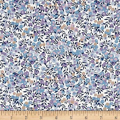 Liberty Fabrics 0512841 Classic Tana Lawn Wiltshire Lavender Fabric by The ()