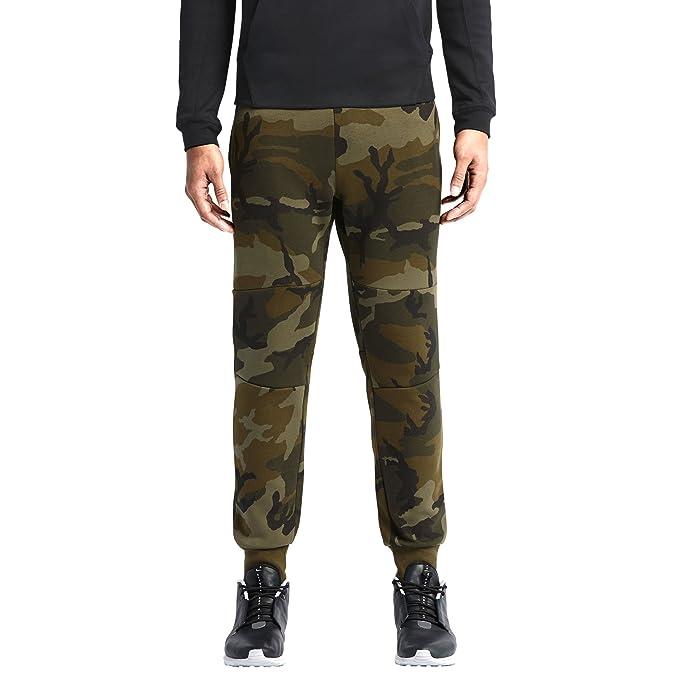 afe7ed12e0dd Image Unavailable. Image not available for. Colour  Nike Men s Tech Fleece  Camo Pants ...