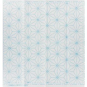 Kiyohara Fabric Coupon For Sashiko Embroidery 31x31 Cm White