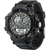 Men's Sports Watch, PALADA T8073 Dual-Display...